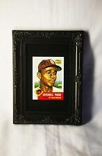 Satchel Paige Rookie RP Sports Portrait Old Cleveland Indians Baseball Card