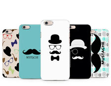 Cool Mustache Gentleman Hat Glasses phone case cover for iPhone