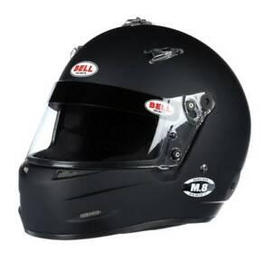 Bell M-8 Racing Helmet SA2020 Size Small Black   Hans Ready  Free Bag!