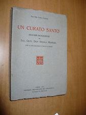 CARLO SONZINI UN CURATO SANTO MEMORIE BIOGRAFICHE DON ANGELO MASSARA VARESE 1932