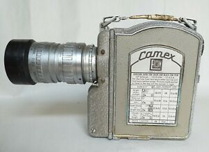 Vintage Camex Cine Camera with Angenieux zoom lens