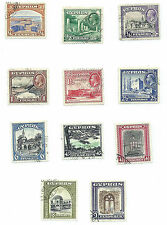 Cyprus 1934 George V definitive set fine used