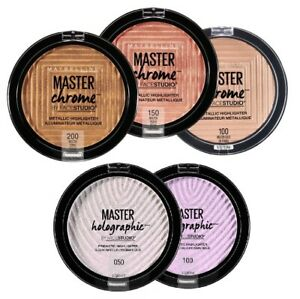 Maybelline Master Chrome Metallic Face Highlighter (Choose A Shade)