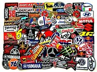 Patches Sponsor Biker Motorcycle Racing Embroidered Sew Iron On Patch Applique
