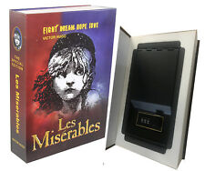 Real Paper Steel Book Booksafe with Combination Lock Hidden Safe Les Miserables!