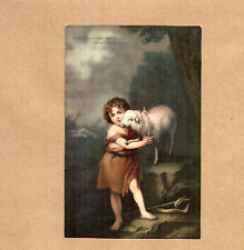 Art Card 1900's Misch and Co 1038 St John and Lamb Murrilo National Gallery BR2
