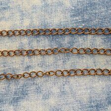 Antique Copper Alloy Metal Twist Chain 5 FT.  3.7mm  Soldered #475