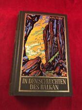 IN DEN SCHLUCHTEN DES BALKAN, by Karl May, Writen in German