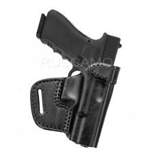 Cardini QDC-C310-1R Leather Quick Draw Holster w// Clips for Glock 19//23//32 New**