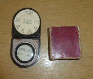ZEISS Ikon Supplementary Lens No. 995/50 for Nettar in Case & Box