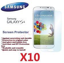 10 X Samsung i9500 i9505 Galaxy S4 IV Screen Protector Crystal Ultra Clear Film