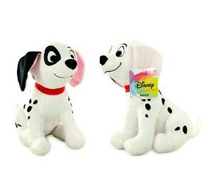 "Disney 101 Dalmatian PATCH The Puppy 10"" Plush Stuffed Toy NWT"