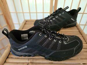 Shimano MT33L Size 10.5  EU 45 Black Cycling Shoes GUC