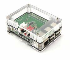 Zebra Case - Raspberry Pi B and 2b Black Ice Plus 3 Heat Sinks