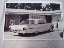 1962 FORD THUNDERBIRD 11 X 17  PHOTO PICTURE  #4