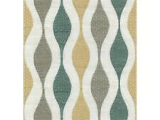 Kravet-100% Linen Modern Embroidered- Fluid Design/Mineral- 0.57 yd (31988-435)