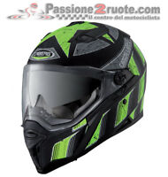 Helmet moto Caberg Stunt Steez black yellow size M casque integral helm