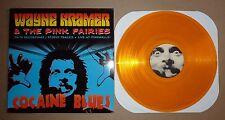 Wayne Kramer & The Pink Fairies Cocaine Blues MC5 LP Yellow Vinyl Rare
