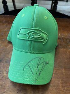 Doug Baldwin Signed Seattle Seahawks Hat Psa Dna Coa Autographed