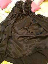 Abendkleid von Yves Calin Paris in schwarz Shimmer in Gr.M/L Zustand sehr gut!!!