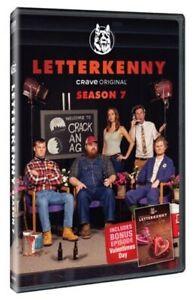 Letterkenny Season 7 DVD Jared Keeso Sitcom TV Series IN HAND REGION 1 USA / CAN