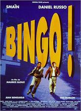 Affiche 40x60cm BINGO 1998 Smaïn, Daniel Russo, Ged Marlon, Jean Benguigui
