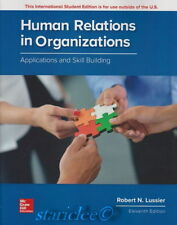 NEW 3 Days US Human Relations in Organizations 11E Robert N Lussier 11th Edition