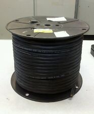 Carol 02765.15.01 16/3 600V Type Sow Black 250ft Electrical Cable NEW