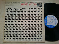 Jackie Mclean It ´S Time (Feat.hancock) US 1964 Blue Note Van Gelder EAR1st
