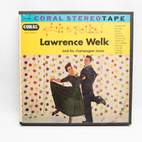 Pick a Polka Lawrence Welk coral Records Reel To Reel Tape 7 1/2 IPS