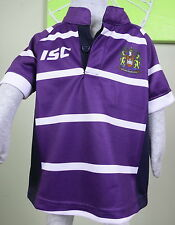 WIGAN WARRIORS  GUERNSEY AWAY Todder Size 2