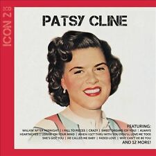 PATSY CLINE - ICON 2 NEW CD FREE SHIPPING!!