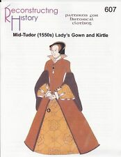 Schnittmuster RH 607: Mid Tudor Lady's Gown & Kirtle
