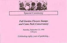 #2997a 2nd Day Program 32c Garden Flowers