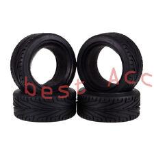"4x 8010 Rubber High Grip 1.9"" Tires Fit 1:10 RC Model 4WD On Road Car HSP HPI"
