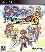 Used PS3 Ken to Mahou to Gakuen Mono 2G SONY PLAYSTATION 3 JAPAN JAPANESE IMPORT