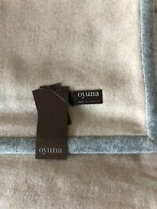 """OYUNA """"ARTE"""" 100% CASHMERE THROW. BRAND NEW WITH TAGS. £995."""