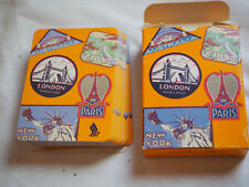 Vintage SINGAPORE AIRLINES PLAYING CARDS MINT