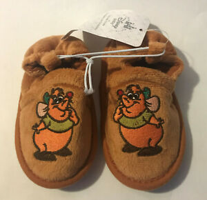 Disney Store Gus Mouse Cinderella Baby Costume Shoes Slippers 12-18M 18-24M NWT