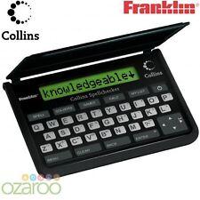 Franklin Collins English Dictionary Pocket Spell Checker Crossword Solver SPQ109