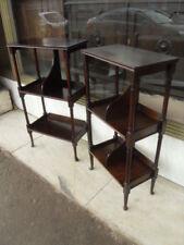 Mahogany Edwardian Antique Furniture Stands