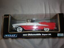 Welly 1955 Oldsmobile super 88 1.18 die cast metal car