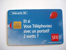 PHONECARD TELECARTE FRANCE TELECOM PORTABLE SFR
