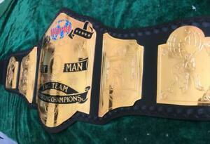 World Six Man Tag Team Wrestling Championship Belt