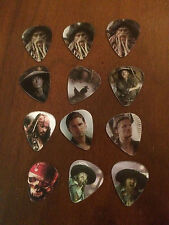 Collector Guitar Picks - Disney Pirates of the Caribbean Themed Motion Picks