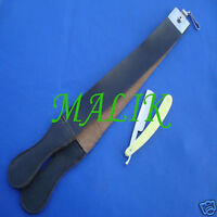 Classic Shave Straight Razor and Leather Strop Strap