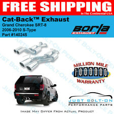 Borla 06-10 Jeep Grand Cherokee SRT8 S-Type Catback Exhaust #140245