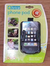 Genuine Brica Phone Pod Universal Small Smart Phone Stroller Attachment **READ**