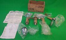 Vintage ELJER Chrome Brass Shower Set 518-1050 NOS Three Valve Diverter Faucet