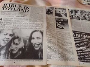 Babes In Toyland - 1995 Record Collector magazine interview article / photos
